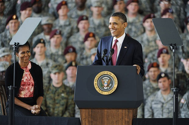Sending U.S Ground Troops, Obama Raises Diplomatic Pressure on Libyan Government