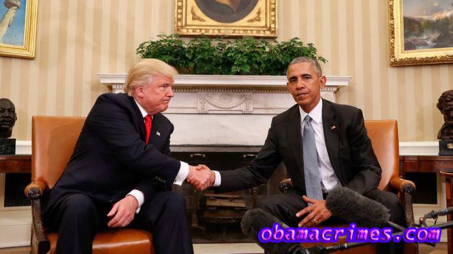 Trump Menuduh Obama Melakukan Kejahatan Politik